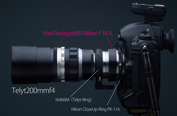 ビゾII&III型(Mマウント)-Nikon Fマウントアダプター