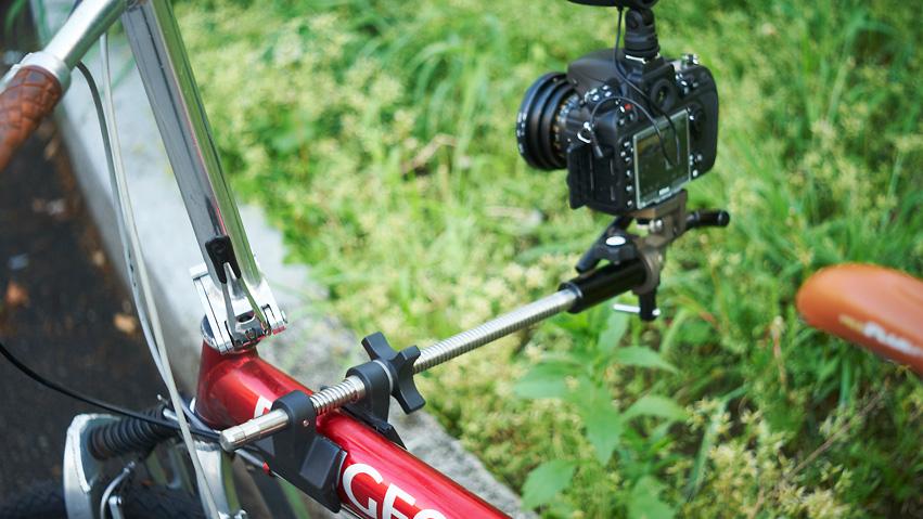 自転車用 自転車用カメラクランプ : すぎない自転車の車載カメラ ...