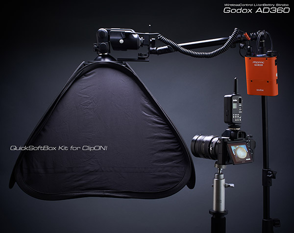 GodoxAd360+QuickSoftBox