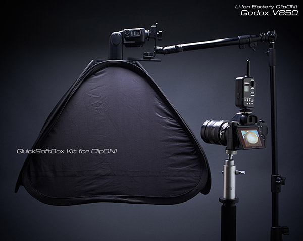 GodoxV850+QuickSoftBox